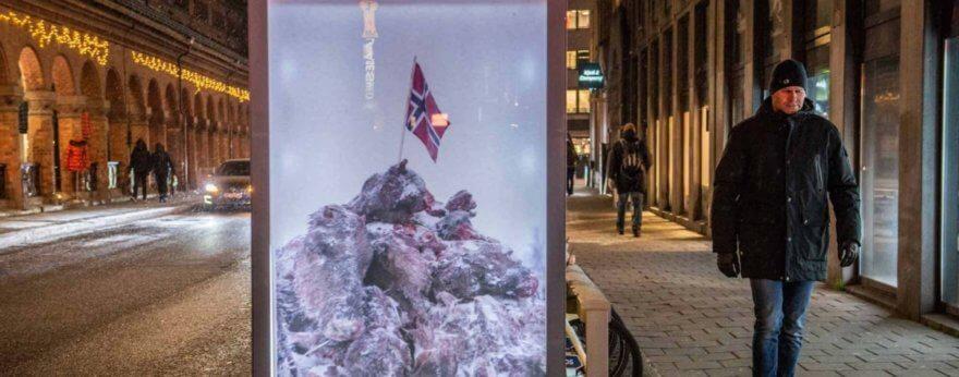 Activistas vs la matanza de renos en Noruega