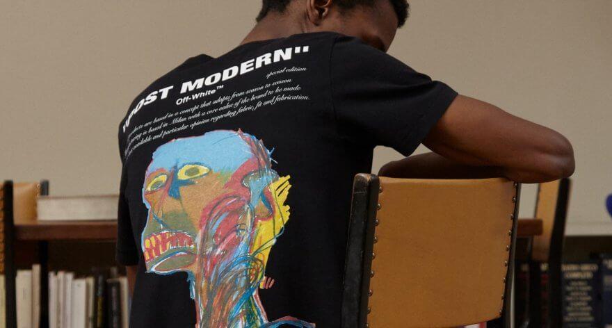 Basquiat es homenajeado por Off-White