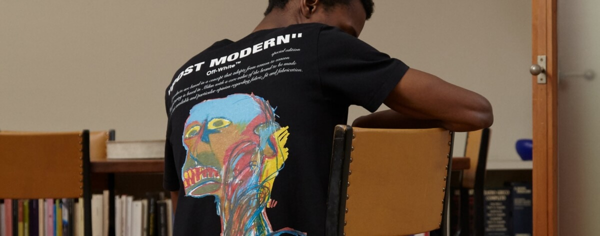 Basquiat es homenajeado por Off-White