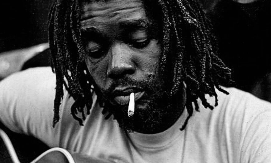 Retrato de Peter Tosh