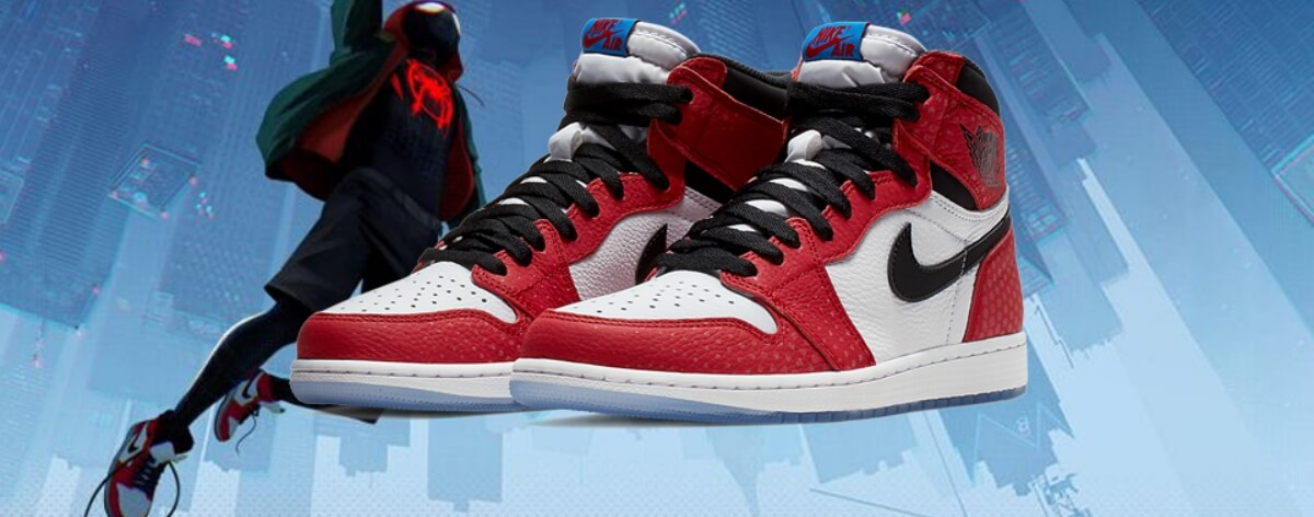 Air Jordan se une a Spider-Man para crear este par