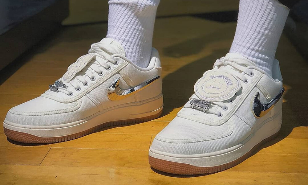Tenis Air Force Travis Scott