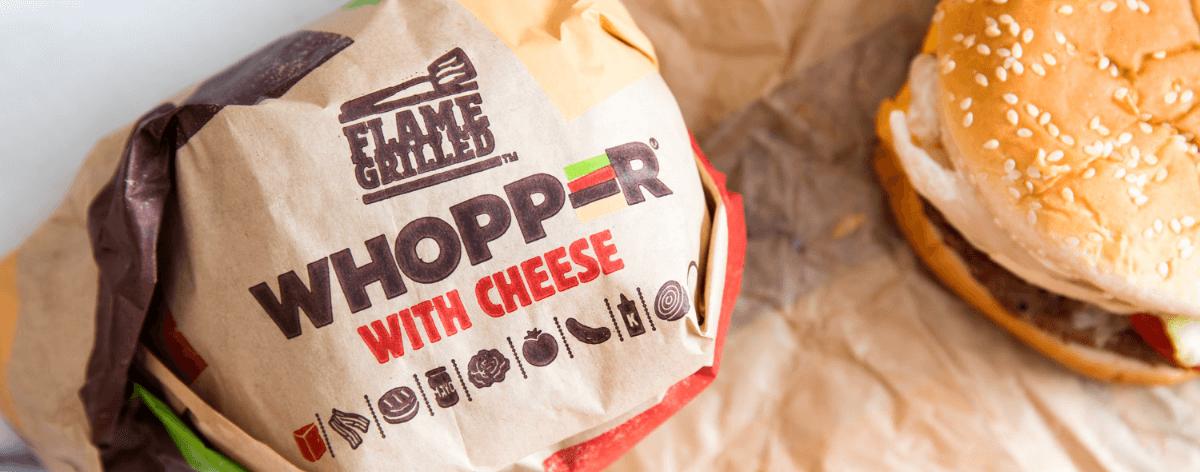 Whopper a un centavo si las compras en McDonalds