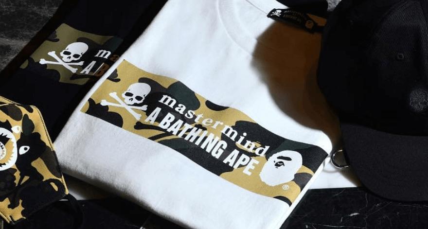 Bape y Mastermind Japan, lanzan colección SS19