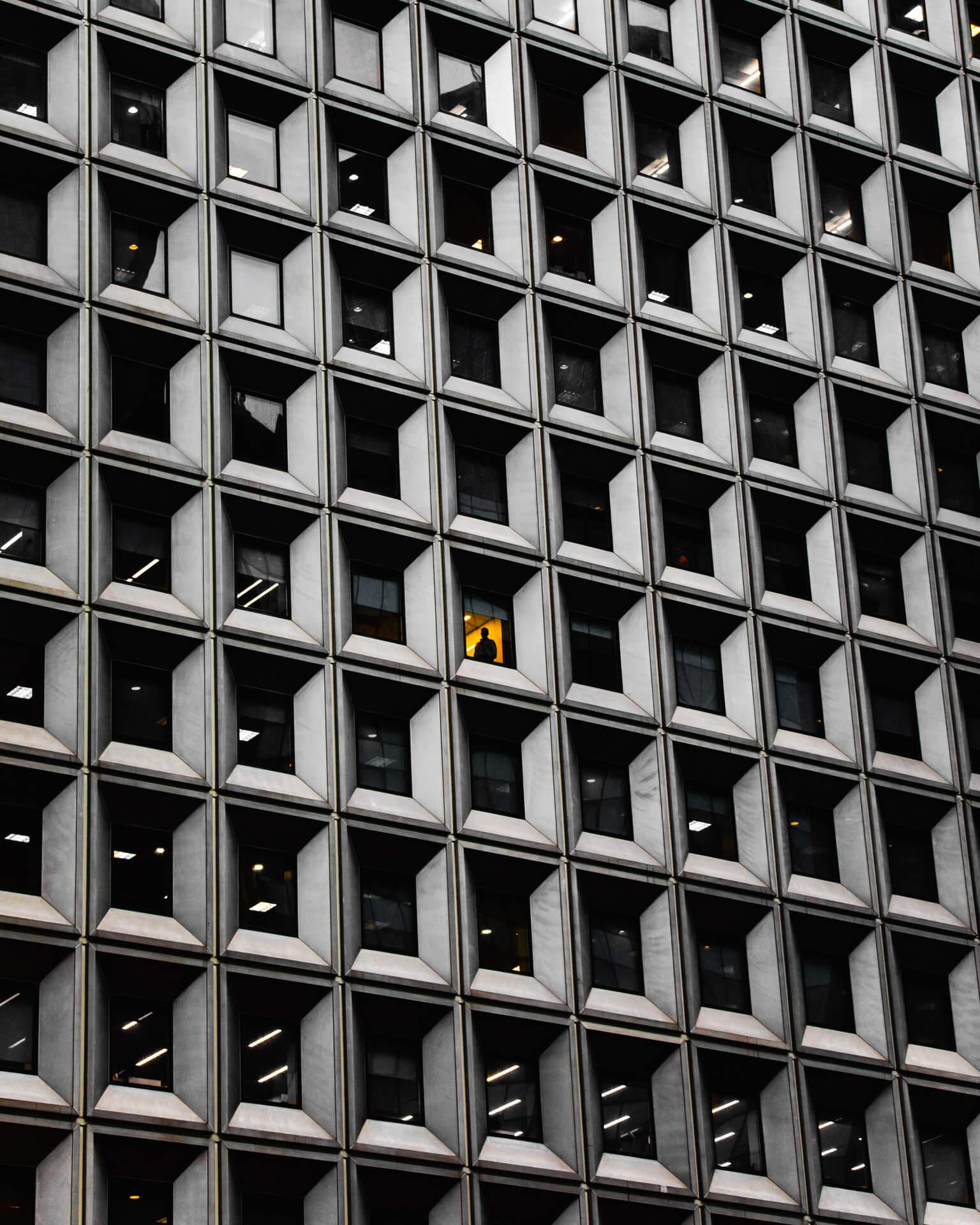 Parte del trabajo fotográfico en New York de Colin Ridgway