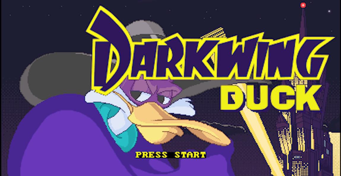 Portada del demo del juego Darkwing Duck de Headcannon
