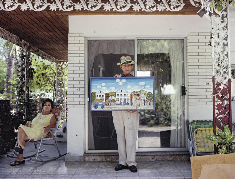 Fotografías de Nathan Benn sobre Florida en los años 80