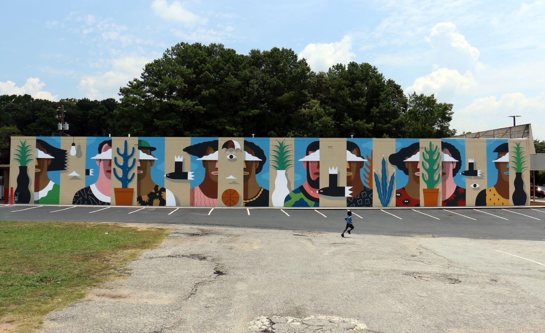 Mural en Global Series 2015 ATL