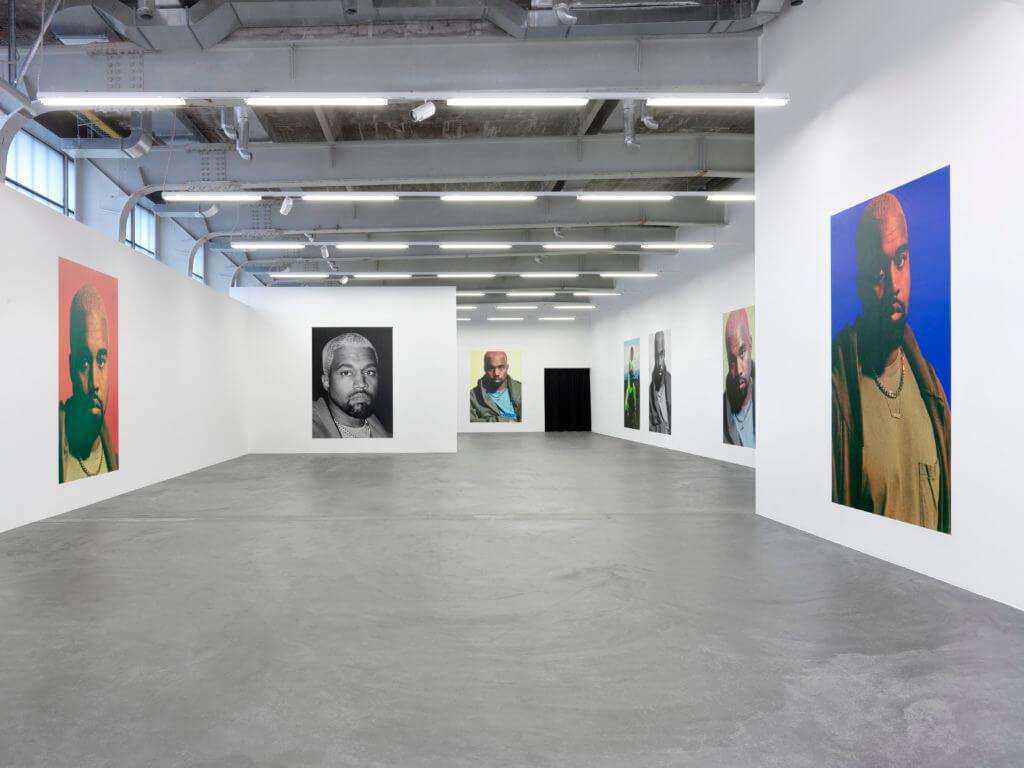 Apariencia de la exposición de Heji Shin