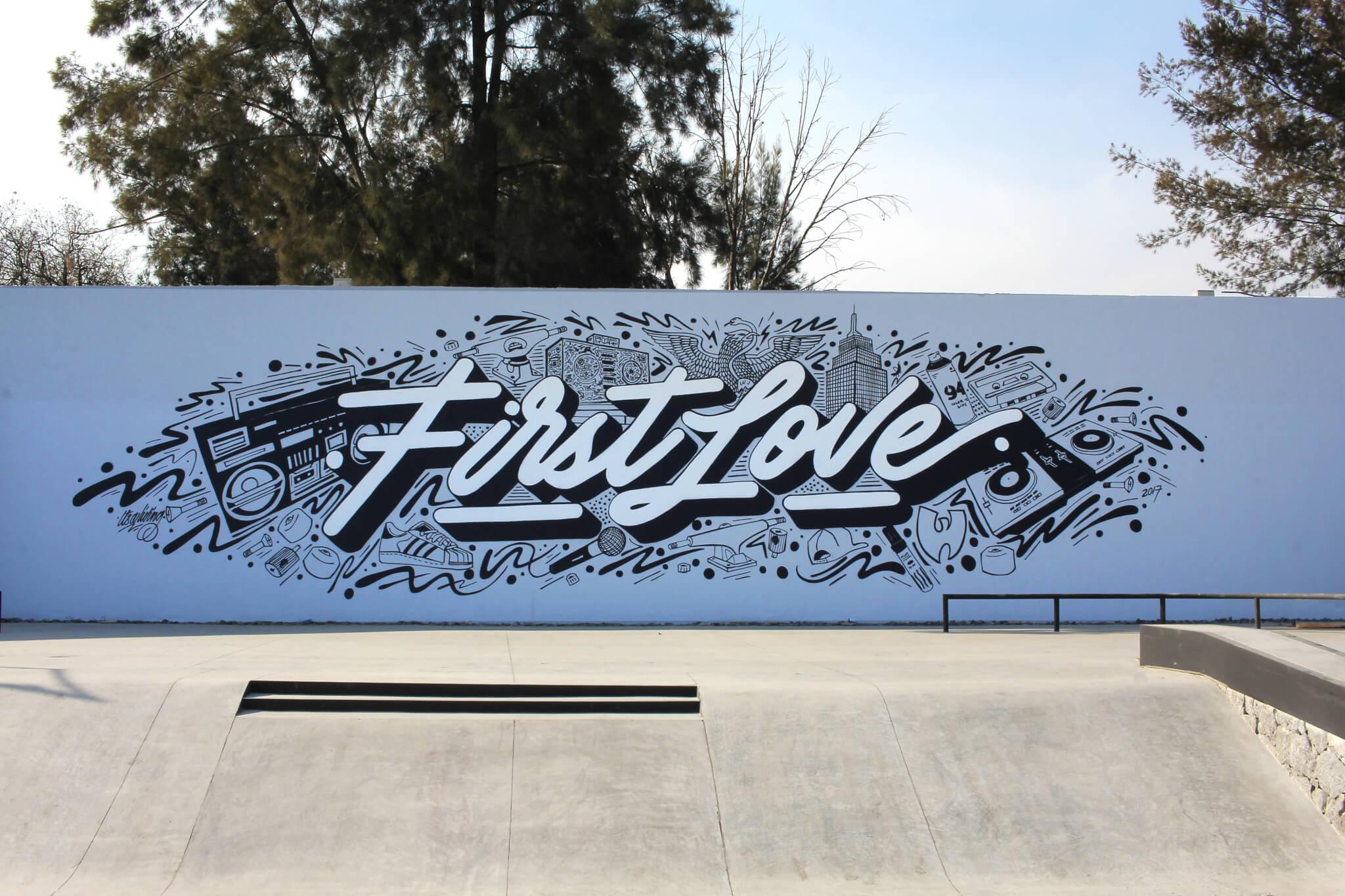 "Proyecto ""First Love"" : espacio Skatepark en Coyoacán, ciudad de México."