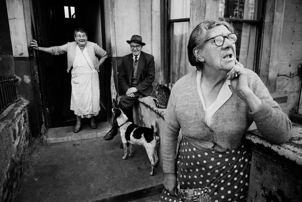 Fotografía tomada en Londres en 1963 por Koen Wessing