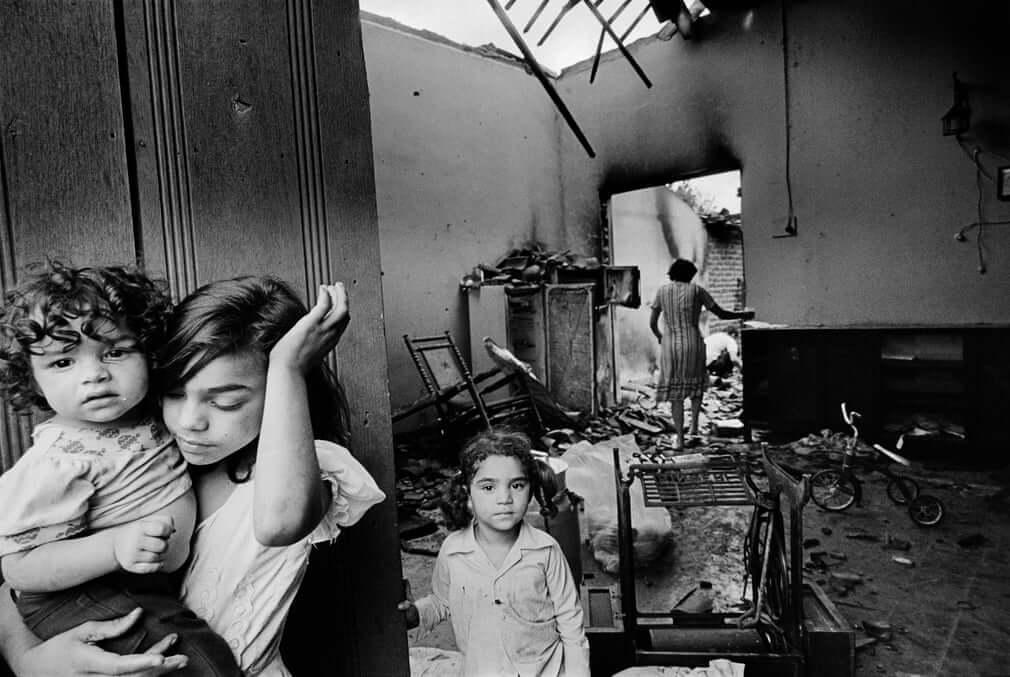 Fotografía tomada en Nicaragua en 1973 por Koen Wessing