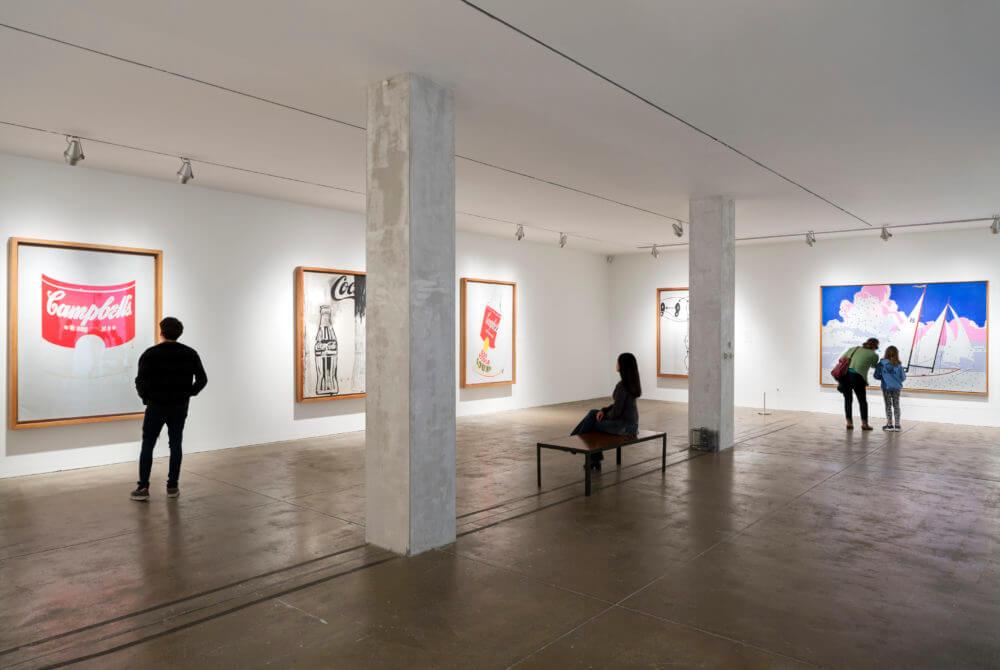 La exposición de las polaroids de Andy Warhol en Londres