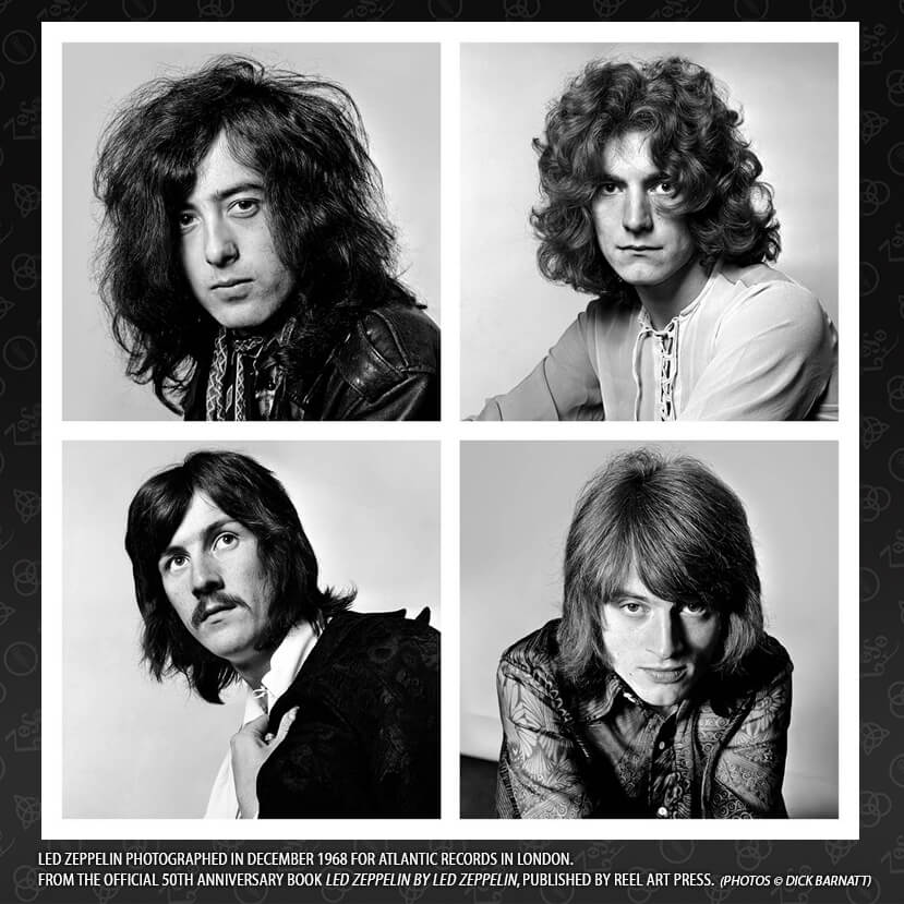 Retrato de Led Zeppelin