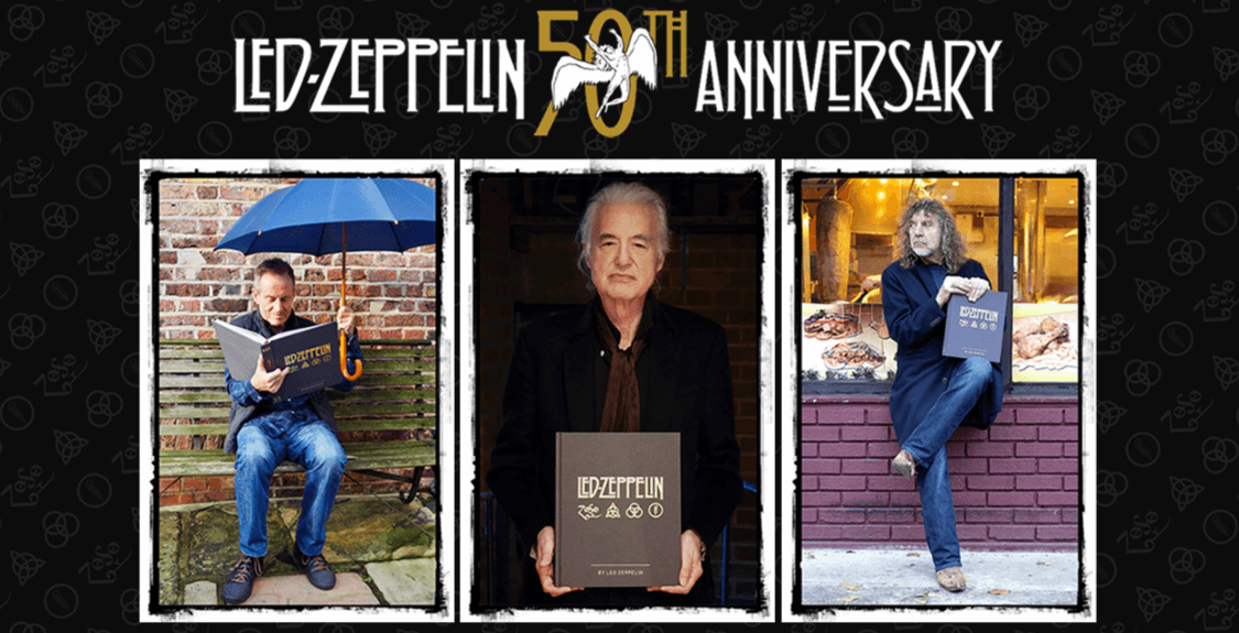 Presentación del libro Led Zeppelin by Led Zeppelin