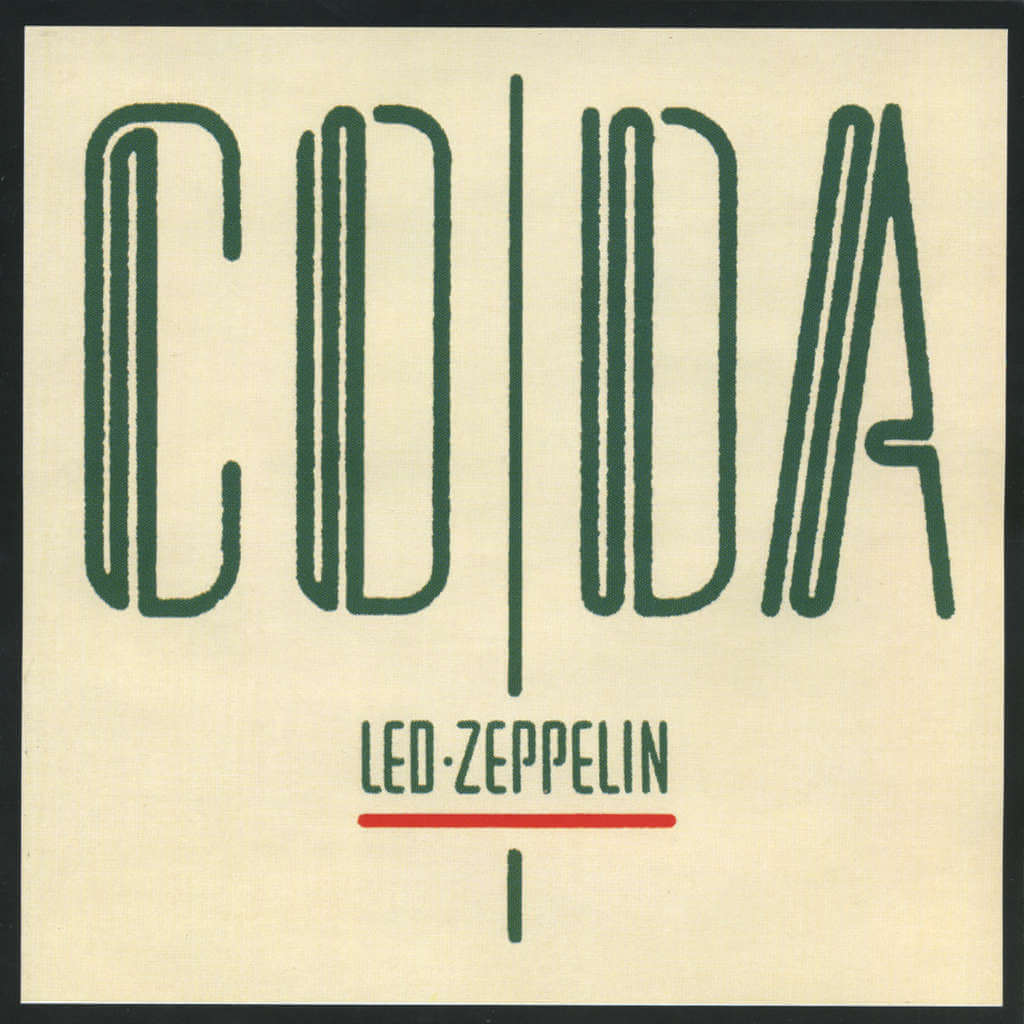 Portada del disco Coda de Led Zeppelin
