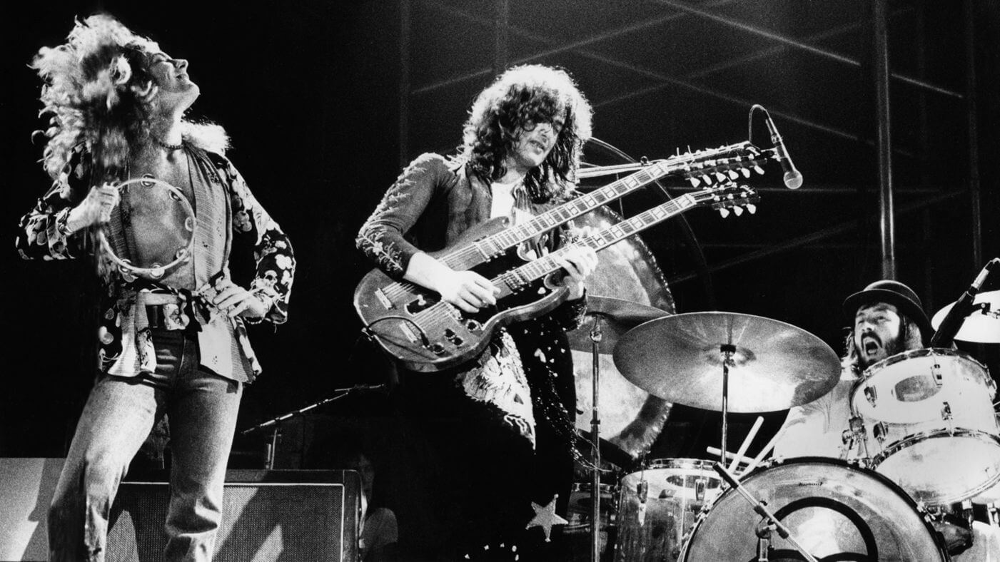 Led Zeppelin en vivo