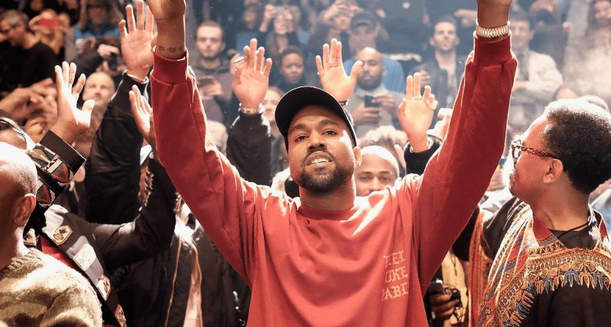La presentación del drop de Kanye West en Coachella