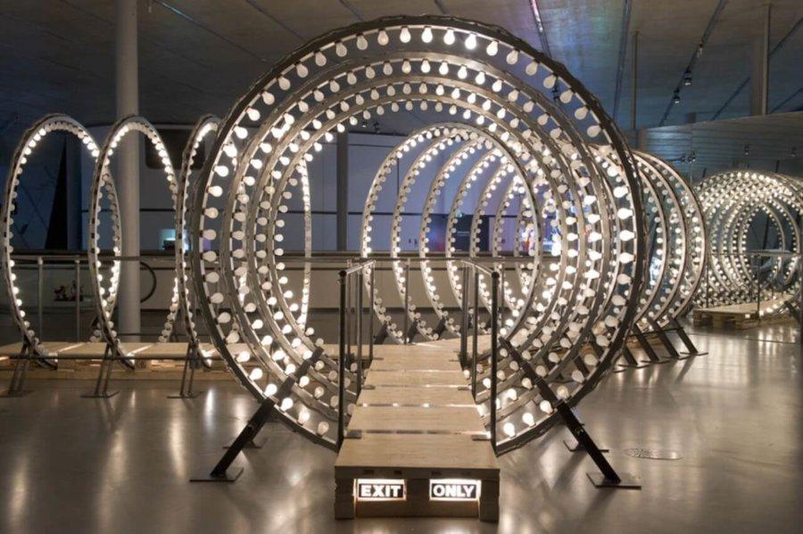 Obra de el artista belga Carsten Holler en el Tate Modern