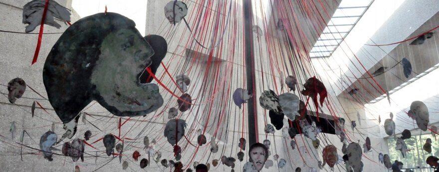 Paper Mirror, la exposición de Nancy Spero en el Tamayo