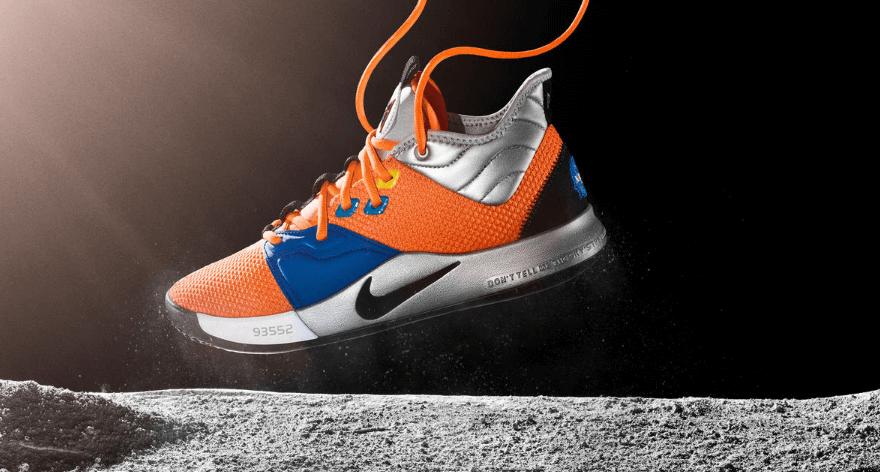 Paul George presenta los nuevos Nike PG 3 NASA