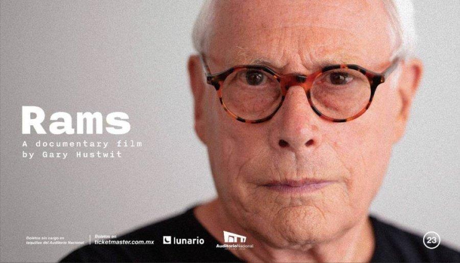 RAMS proyección de el documental sobre Dieter Rams en El Lunario