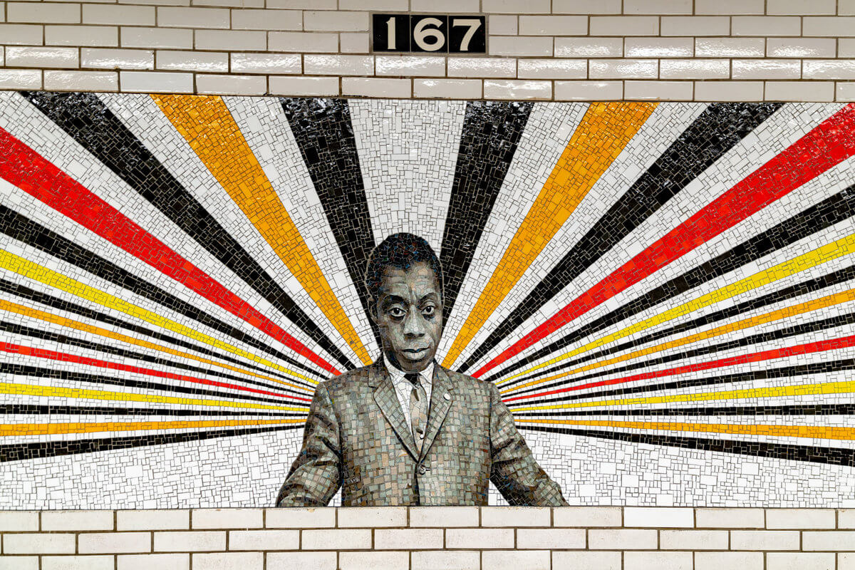 Mural de Rico Gaston de James Baldwin