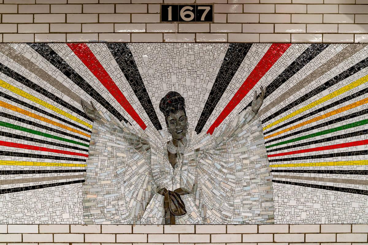 Mural de Rico Gaston de Celia Cruz
