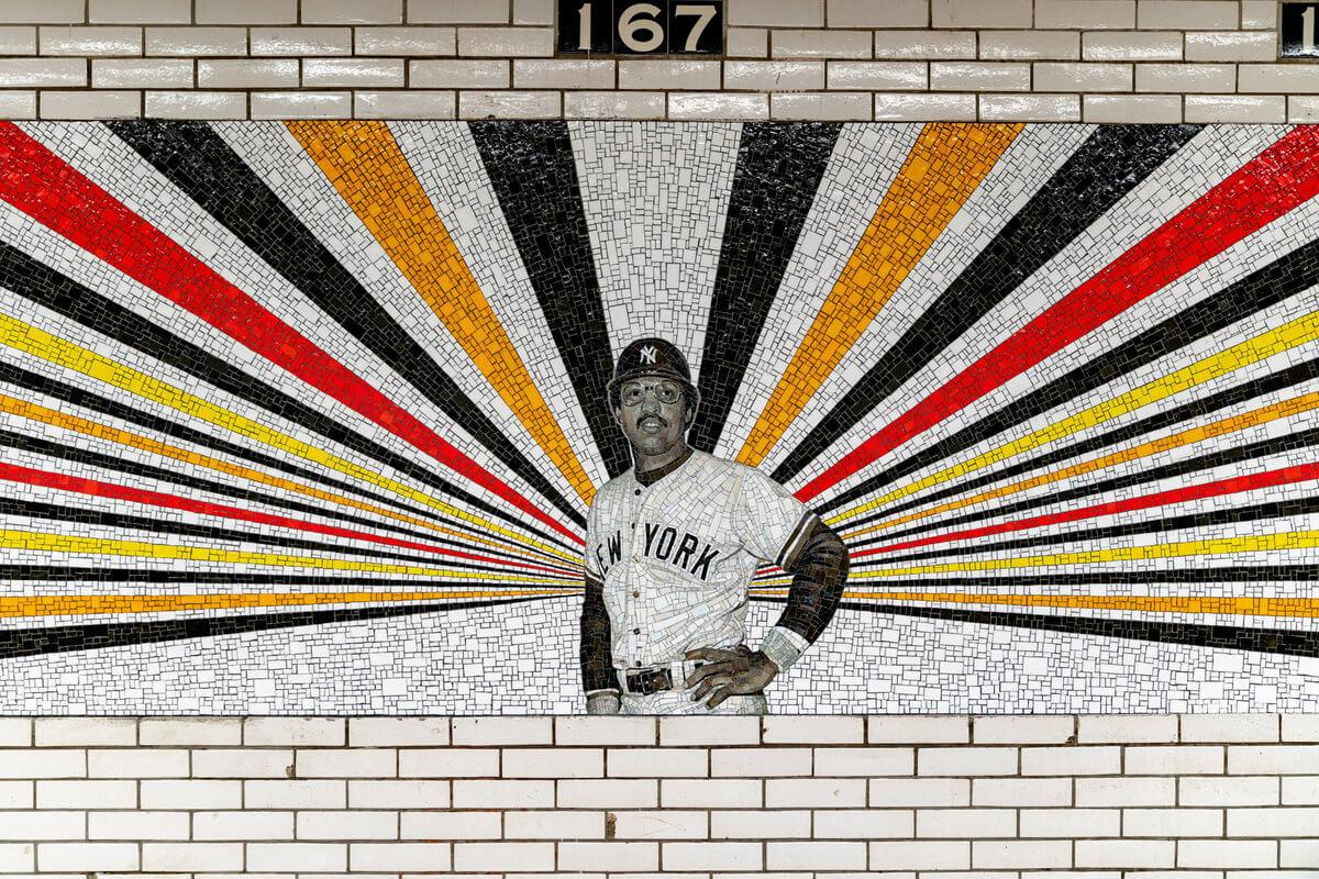 Mural de Rico Gaston de Reggie Jackson