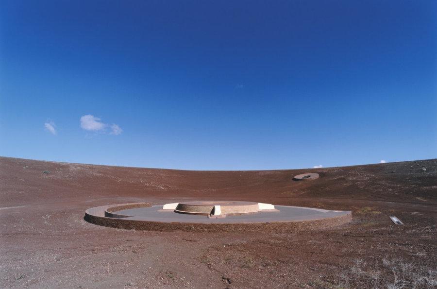 Roden Crater, obra maestra de James Turrell