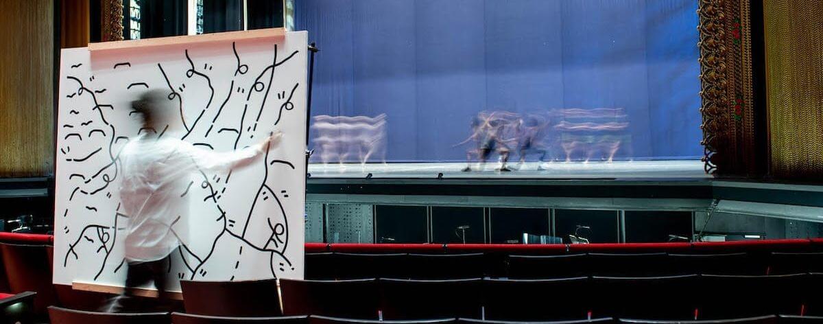 El Ballet de Nueva York colabora con Shantell Martin
