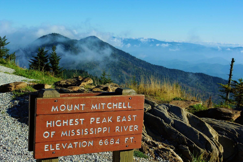Fotografía del Parque Estatal Mount Mitchell
