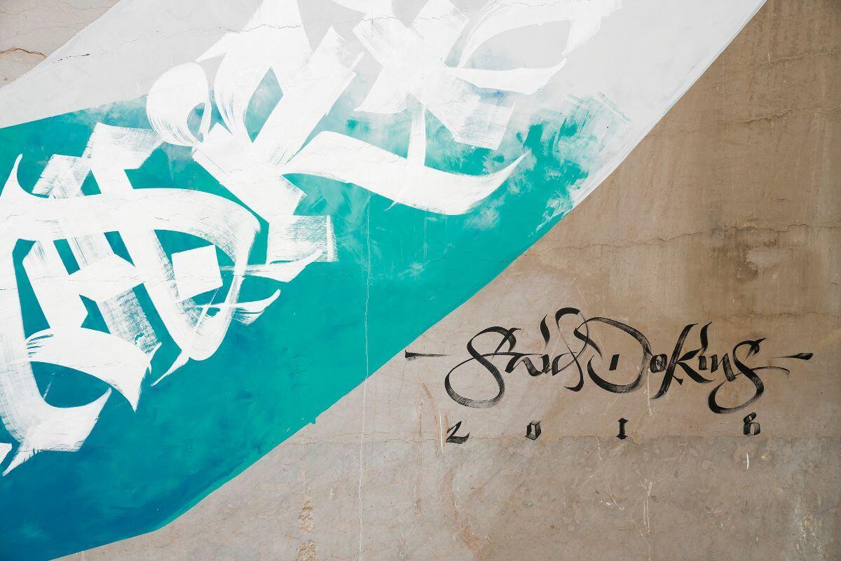 Mural de Said Dokins en Villars Fontaine