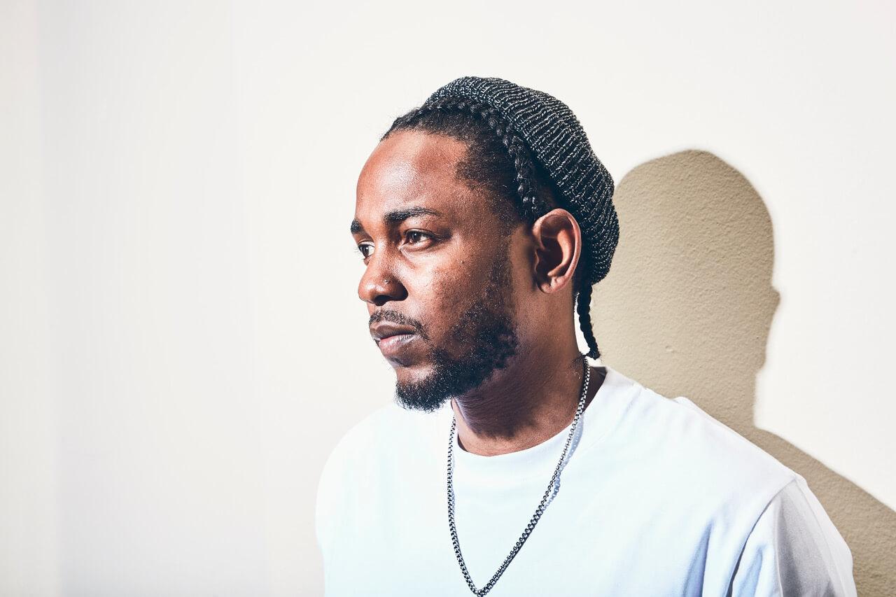 Retrato del rapero Kendrick Lamar