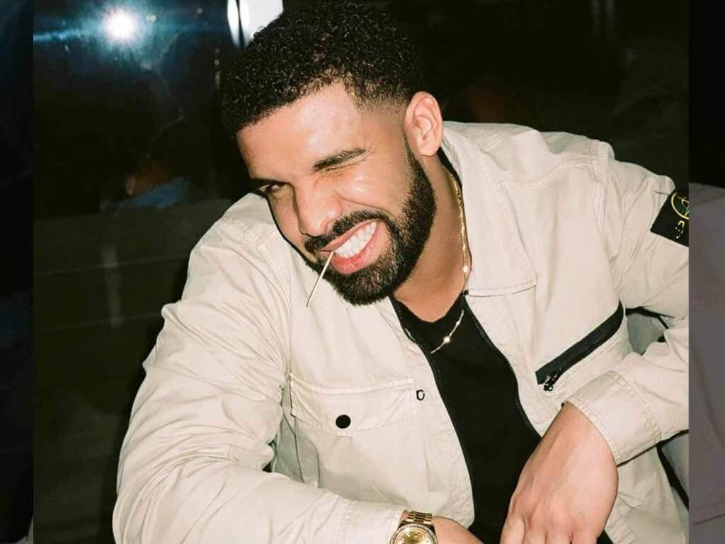 Retrato del rapero Drake
