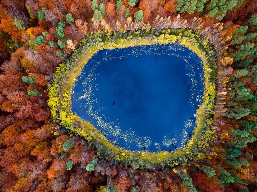 fotografías aéreas del artista Kacper Kowalski