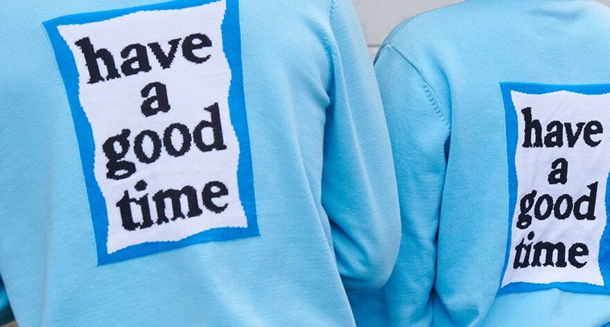Have a Good Time y Adidas en colaboración
