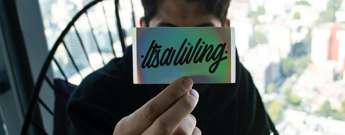 Lettering como estilo de vida con IT'S A LIVING