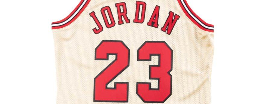 Jersey de Michael Jordan por Mitchell & Ness