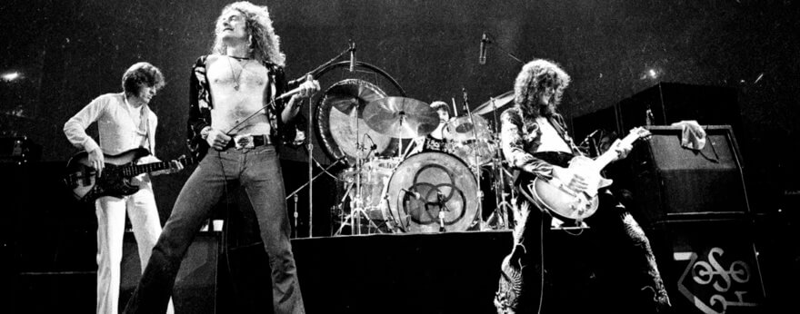 Led Zeppelin cumple 50 años de hard rock