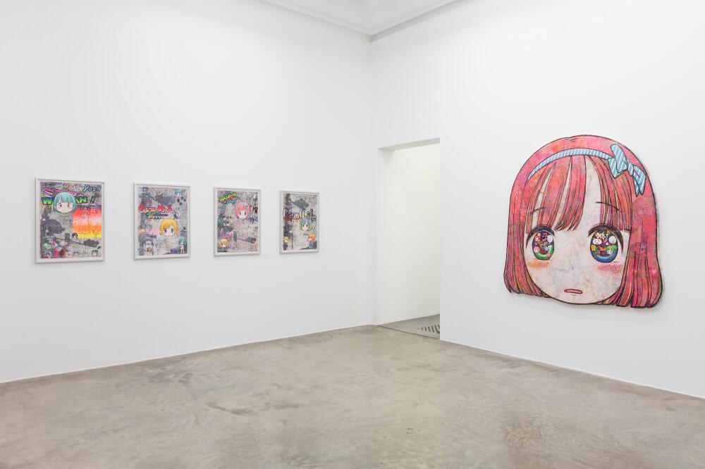 Parte de la exposición de Mr. en París