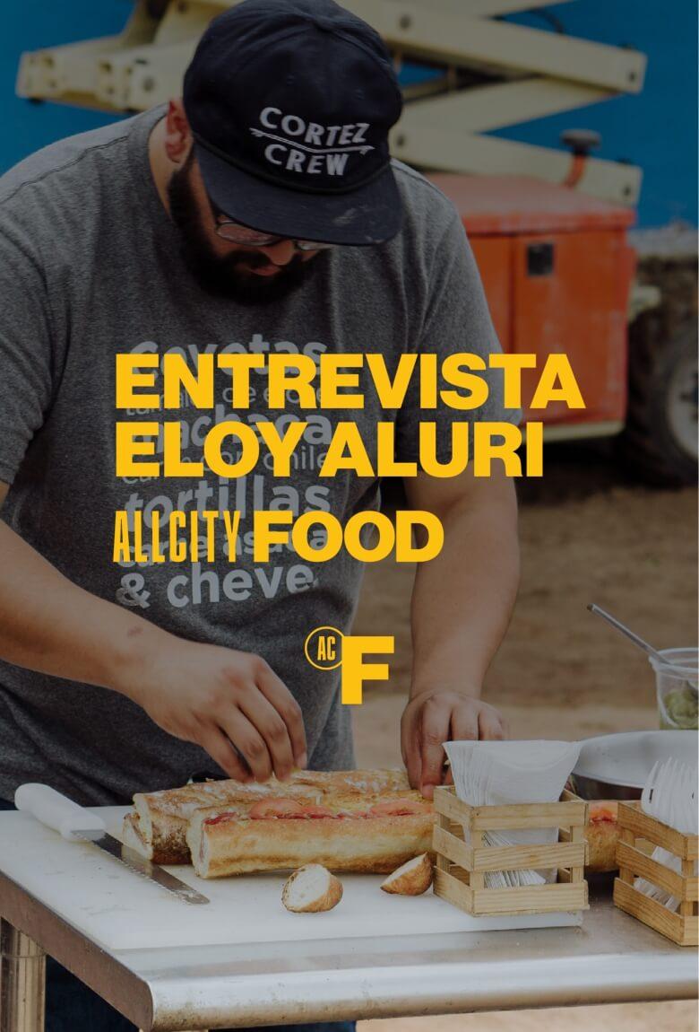 Comida y arte por parte de Eloy Aluri en ACC Global Series