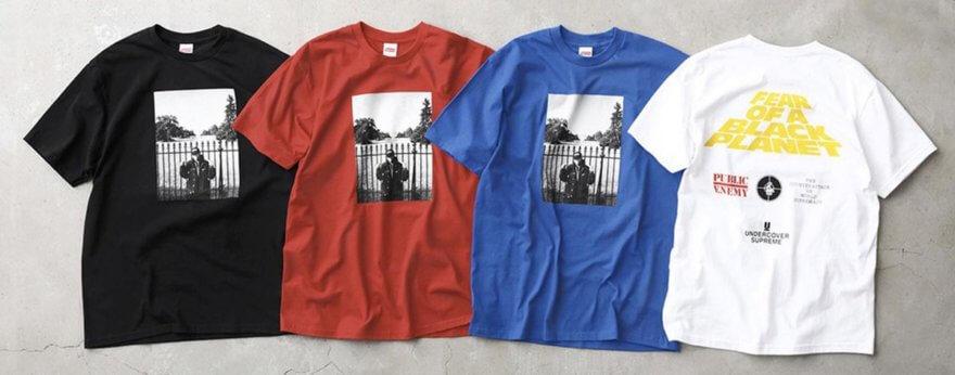 Supreme con bandas musicales, otra cara del streetwear