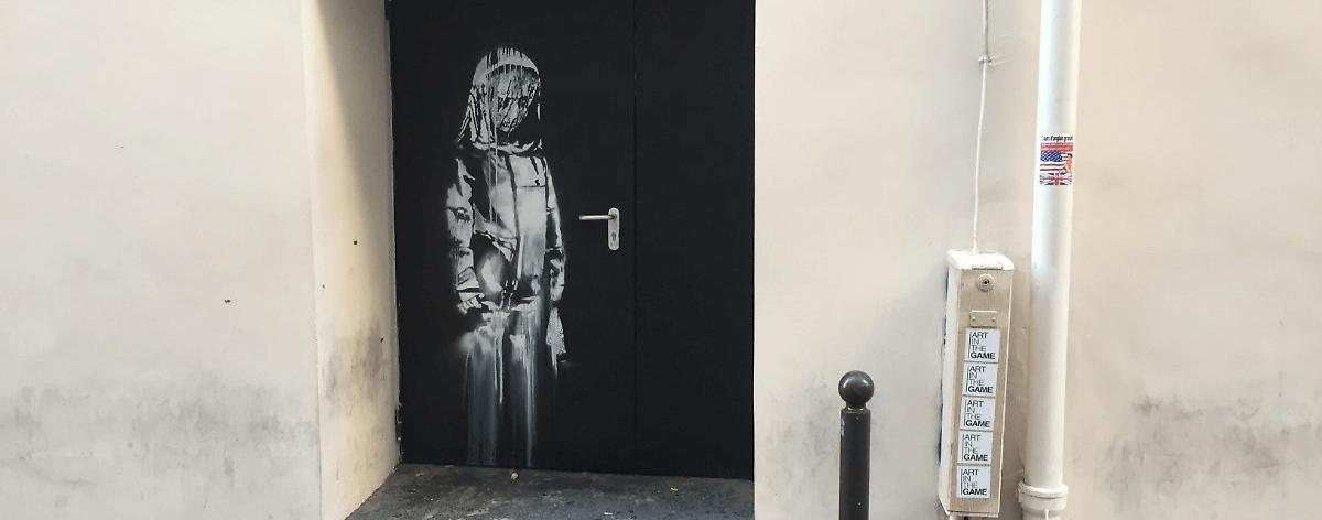 La obra de Banksy del teatro Bataclán fue robada