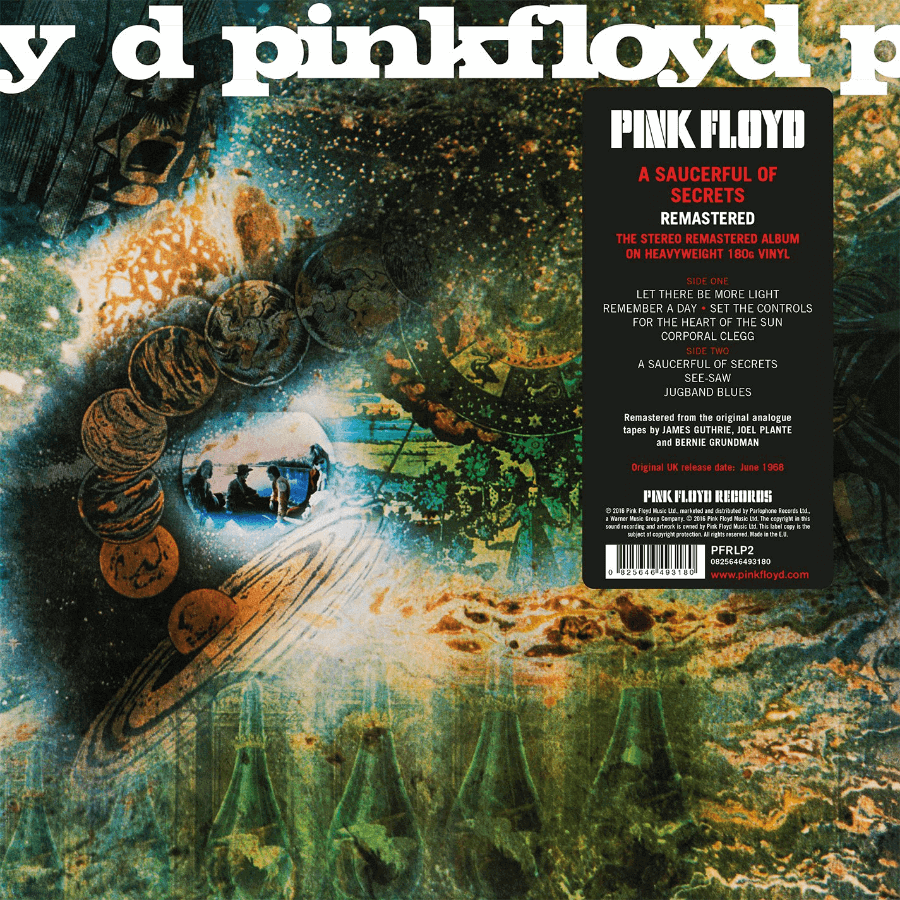 Portada del disco A Saucerful of Secrets