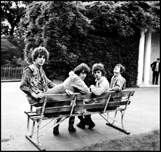 Retrato de Pink Floyd