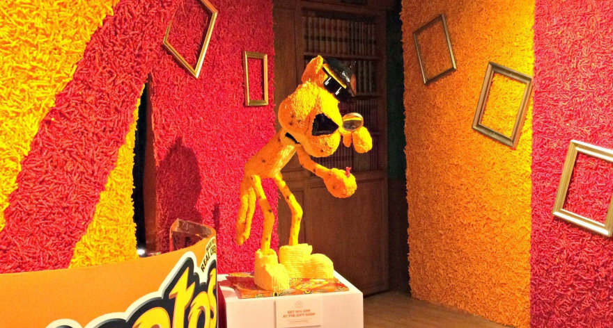 The Cheetos Museum has all kinds of cheetos