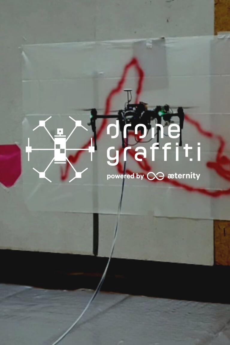 Drone Graffiti Project llega a la CDMX