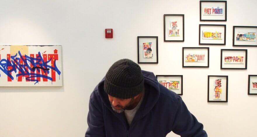 Dave Persue presenta exposición en GR Gallery