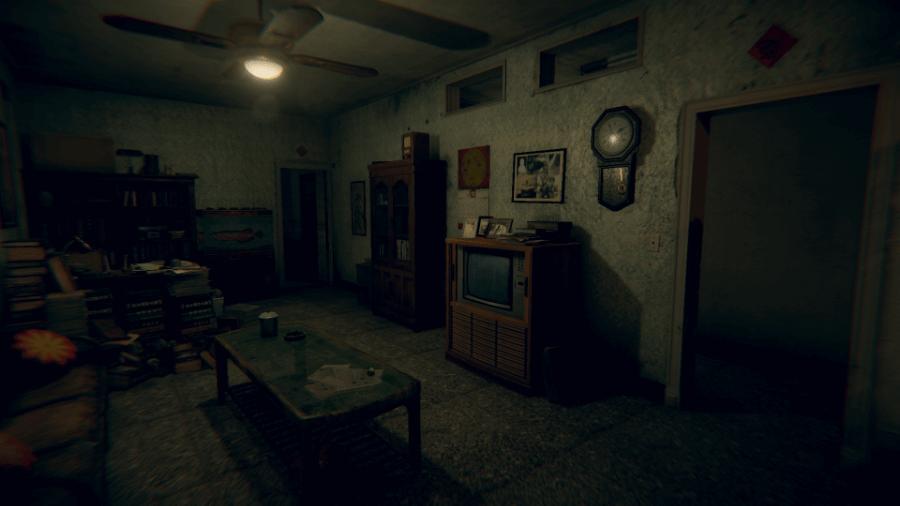 Escena del videojuego Devotion